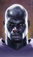 Adrian Peterson by carts