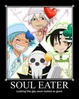 Soul Eater Demotivational by digital-strike