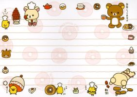 Rilakkuma circle of love by tristan19019