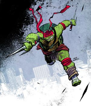 Raphael Ninja Turtles movie by OscarCelestini