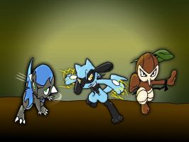 PMD:Team Rush by Ambience19