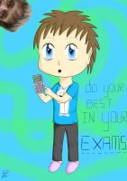 My Brother and his Exams by HollysHobbies