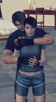 Claire and Leon by MaukeGarcia1213