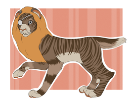 Lion Fursona Adoptable!CLOSED by Rainb0wPukex