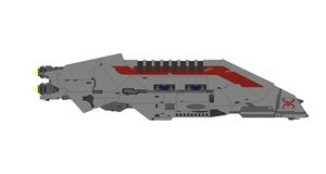 Star Wars Interceptor Frigate (CEC Action VI) by Seeras