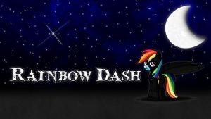 Rainbow Dash Batman Wallpaper by ALoopyDuck