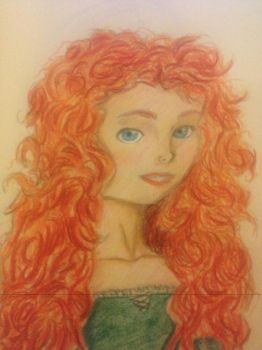 Merida  by evildollie