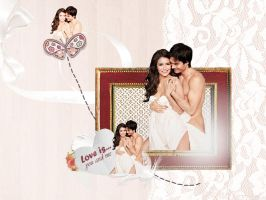 Nina and Ian Love by VanillaChocolat