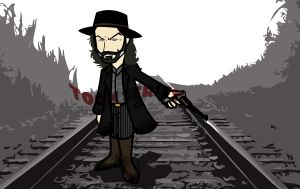 Cullen Bohannon - Hell on Wheels by toonseries