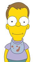 Homer Simpson (The Simpsons) as a young boy by frasier-and-niles