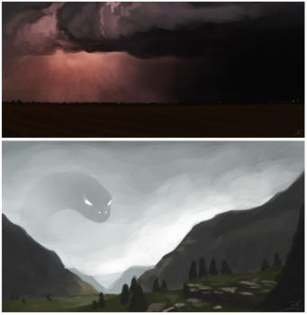 Conceptual sketches #5, #6 by Zary-CZ