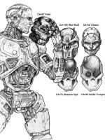 CS Cyborg Faceplates by ChuckWalton