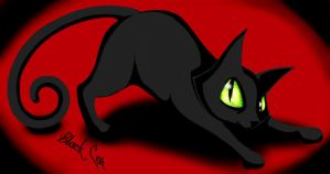 Black Cat by DancesWithFoxes