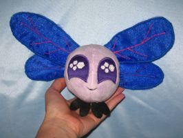 Twisprite Sparkle (Twilight Parasprite Plushie) by WhiteHeather
