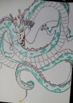 Shenron Dragon Ball by pierreangy