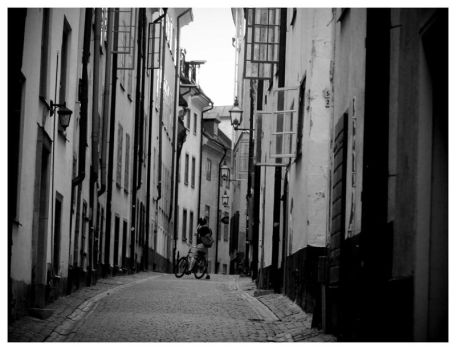 In the street of Stockholm by jaggo