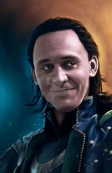 Loki of Asgard by Blind-Leviathan