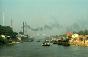 Canal Cruise, Wuxi, China 1986 by bobswin