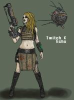 Twitch and Echo by Spellster