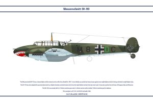 Bf 110 C ZG76 1 by WS-Clave