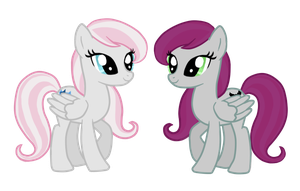COMMISSION: Gavotte and Operetta by PinkiePuff