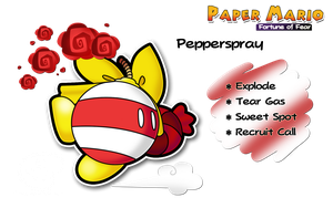 PMFOF - Pepperspray by Piranhartist