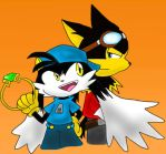 Klonoa: Partners by SukiTenshi