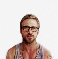 Ryan Gosling by RAblewhite