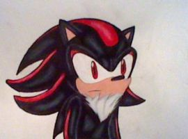 Shadow the Hedgehog by GothNebula