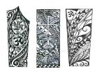 Forearm Polynesian tattoo design, Indian elements by thehoundofulster