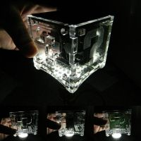 Ouya Case Mod Acrylic Question Block by stardust4ever