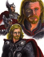 Chris Hemsworth is THOR by KwongBee-Arts