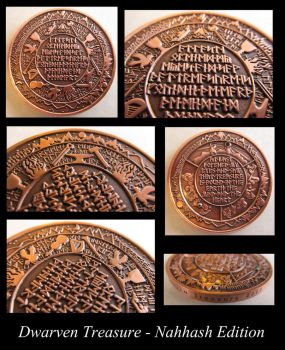 Dwarven Treasure Coin - Nahhash Edition by ce-e-vel