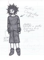 Gothic Character Idea by crystalized-darkness