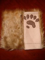 Otter paw warmers by Nevask