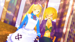 ((GUESS WHO'S DATING)) by Ask-MMD-Igiko