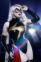 Ms. Marvel Cosplay II by ValerieVirgin