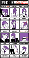 Gakupo - Hair Style Meme Extended by DeviantTear