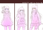 [RA]: Rosette Line [unfinished] by nhiaChan