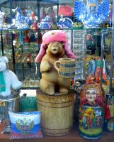 Glamorous bear and other souvenirs by Ferrabra