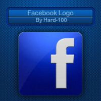 Facebook logo (By Hard-100) by Hard-100