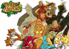 Dofus Fanart by Lonely-X