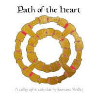 Path of the Heart calendar by Majnouna
