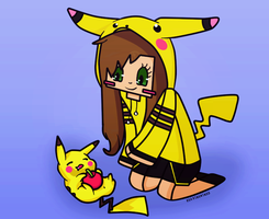Graphic | Pika by RoaringWindd