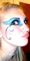 Mermaid makeup by Kirry