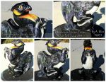 Peo the Emperor Penguin / Badger Griffin by 96037