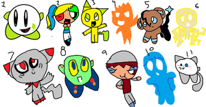 pokemon ppg elemnt and kirby adpots by skywirefan