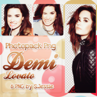 Demi Lovato Png Pack by S-JessiePNG