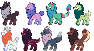 Pupyon  Pups Batch 11 (CLOSED) by HobbaGobwin