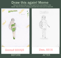Draw This Again Meme by TheBurningWitch